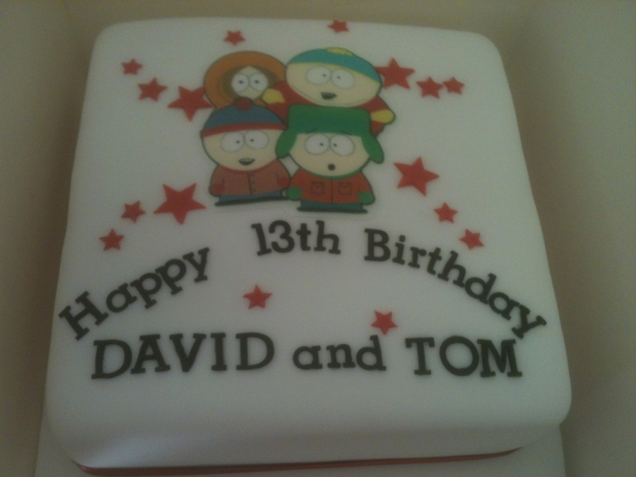 South Park on Cake Central