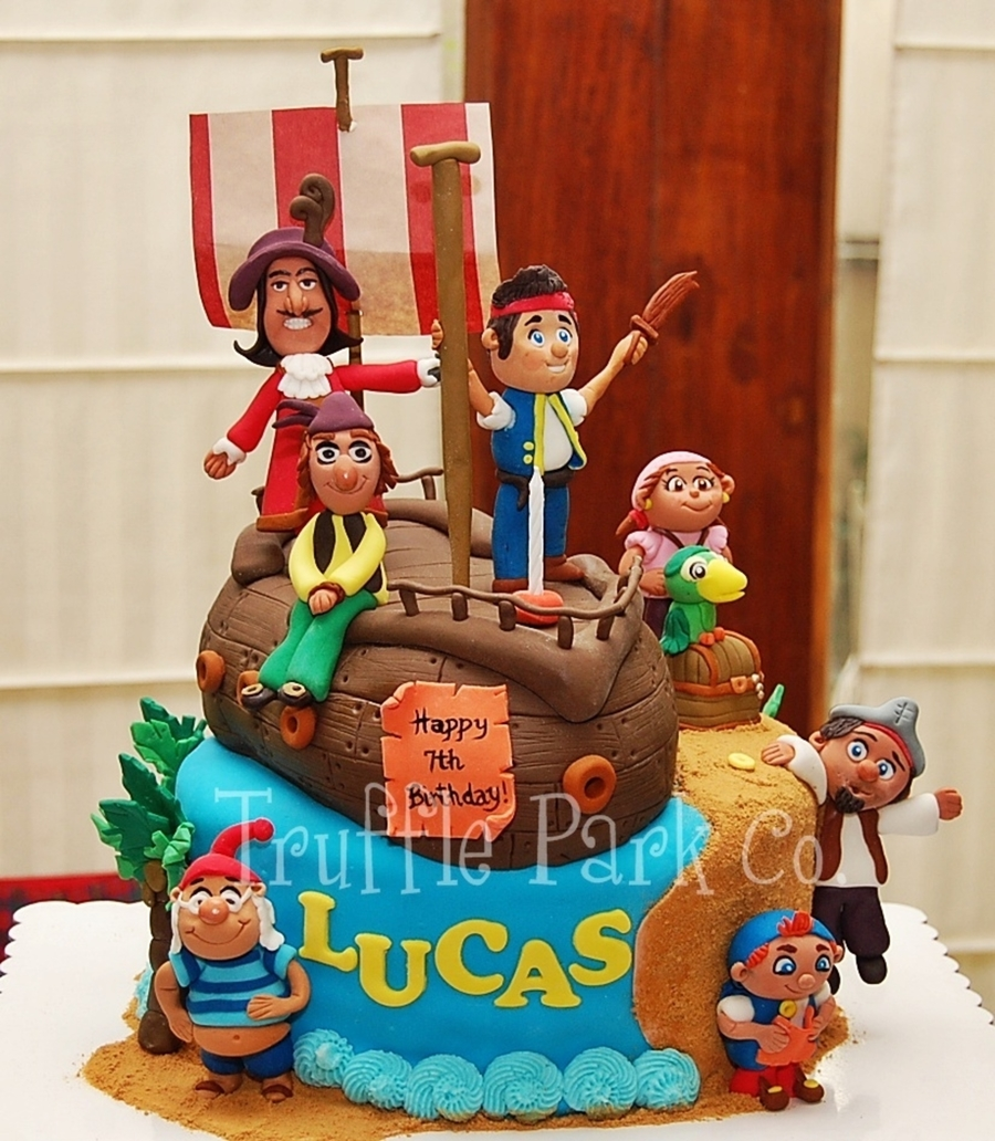 Jake And The Neverland Pirates Cake on Cake Central
