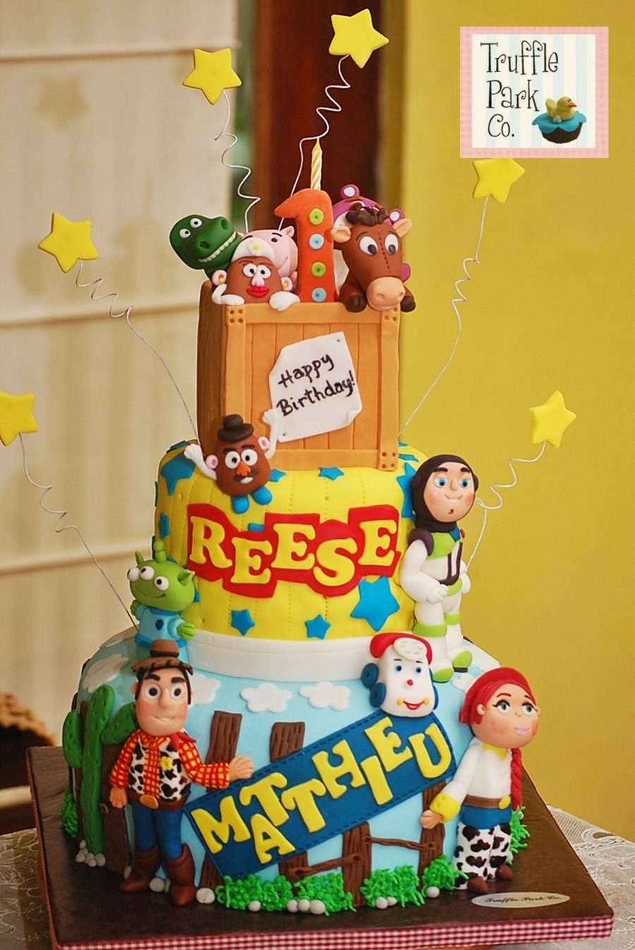 Toy Story Themed Cake Cakecentral