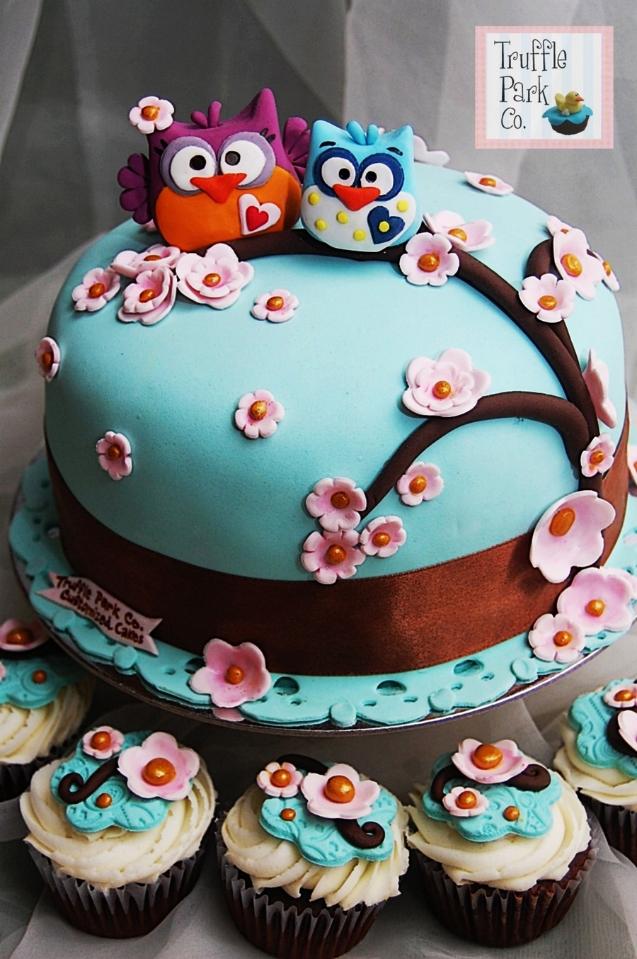 Owl-Themed Cake on Cake Central