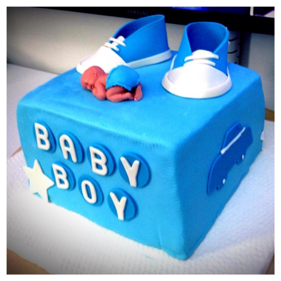 Its A Boy Baby Shower Cake