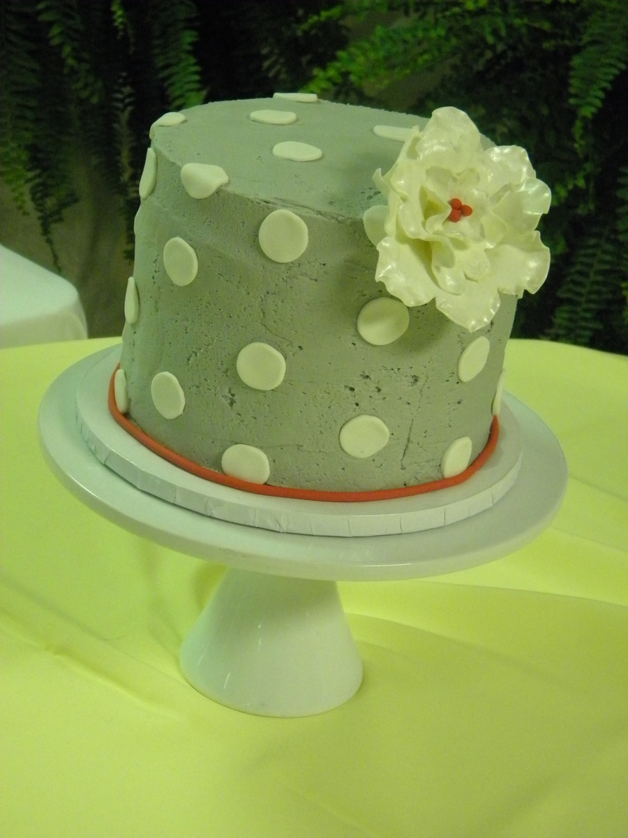 Rustic Vintage Gray on Cake Central