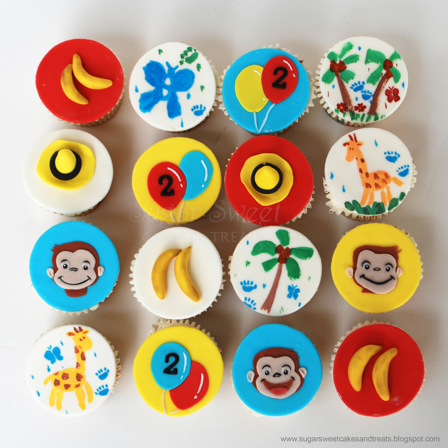 Curious George Cupcakes on Cake Central