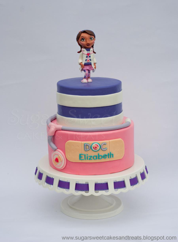 Doc Mcstuffins Decorated Cakes