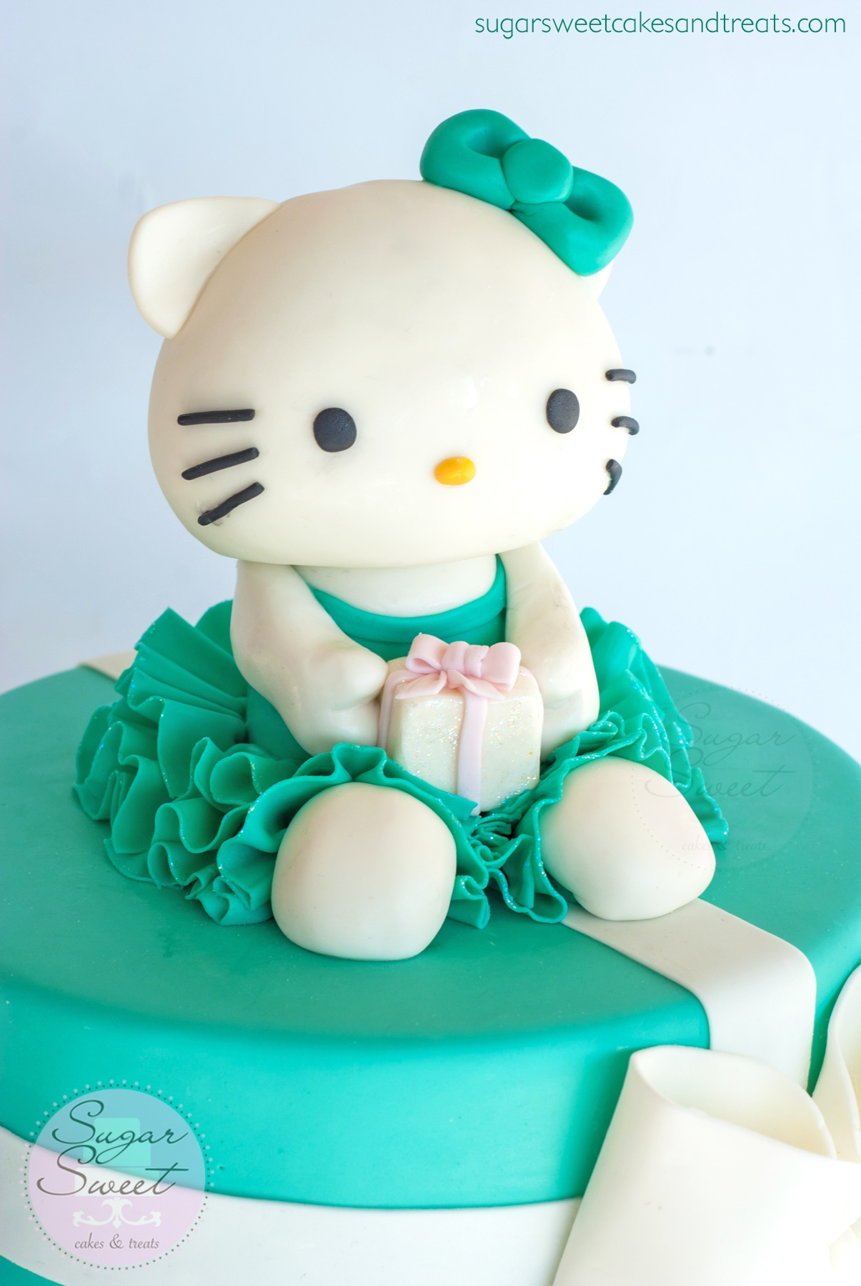 Birthday Cake Of Hello Kitty