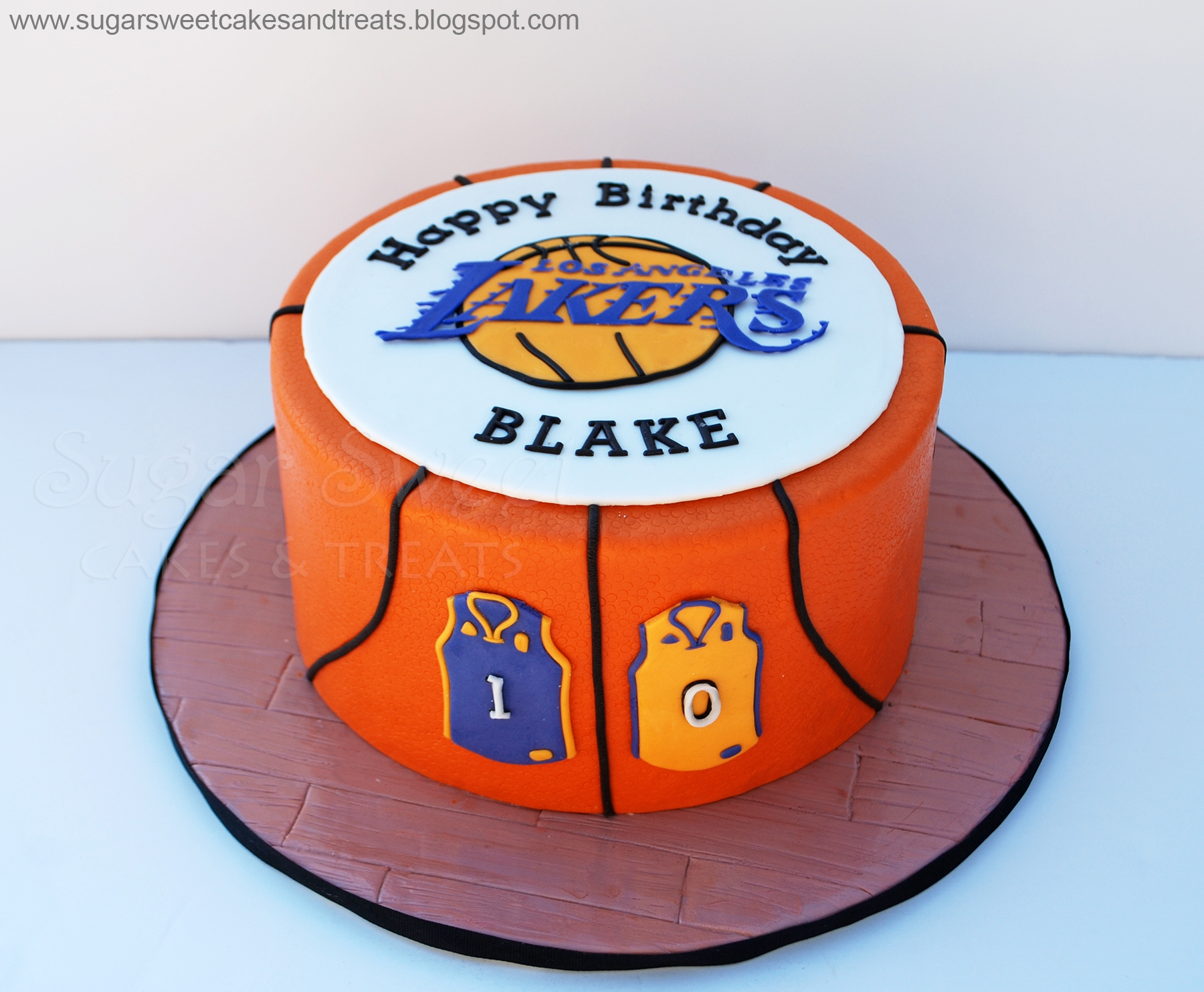 Basketball Chocolate Cake