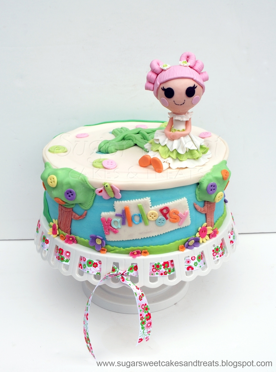 Cake Art Instant Mix Modelling Paste : Lalaloopsy - CakeCentral.com