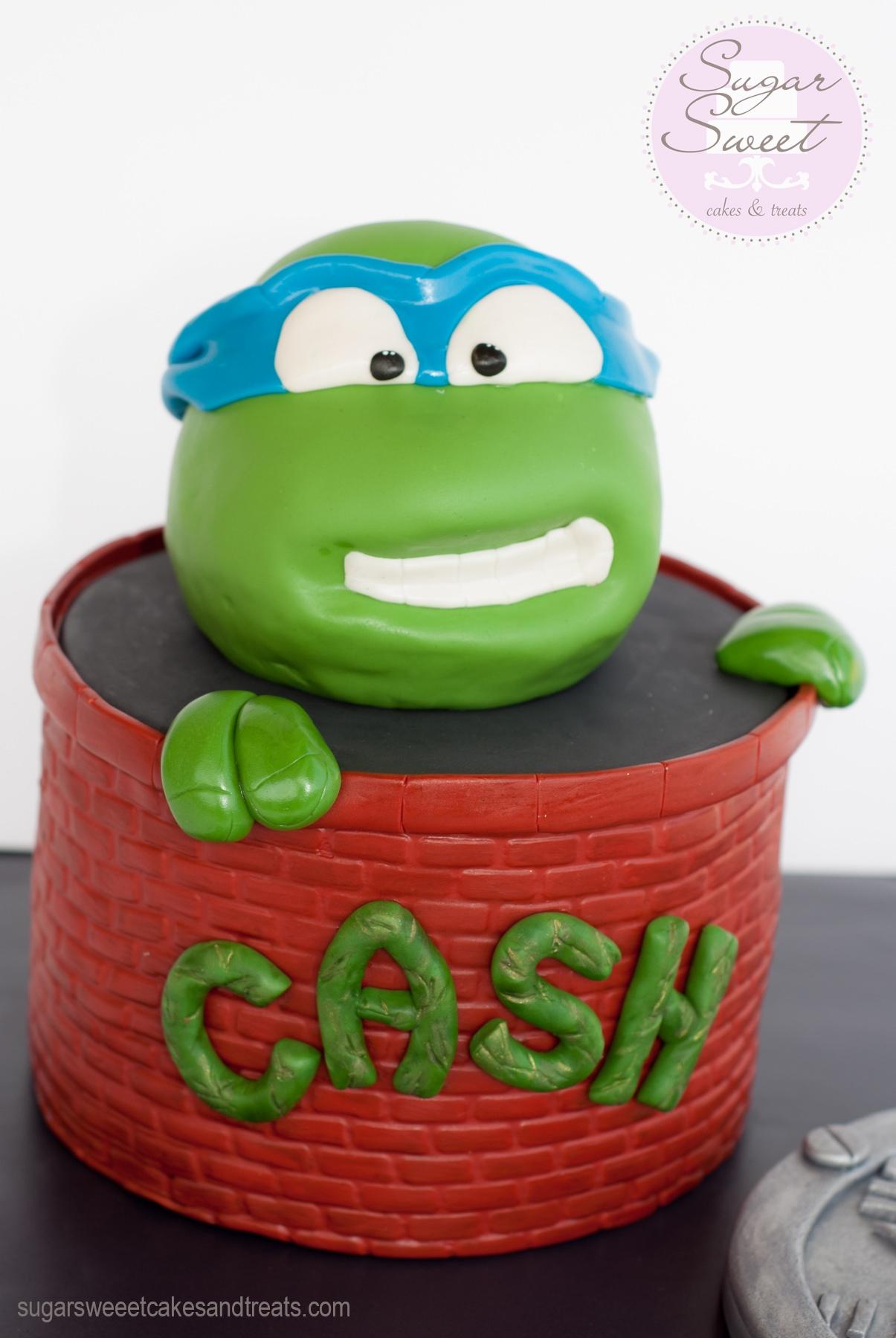 Tmnt Cake Leonardo Cakecentral