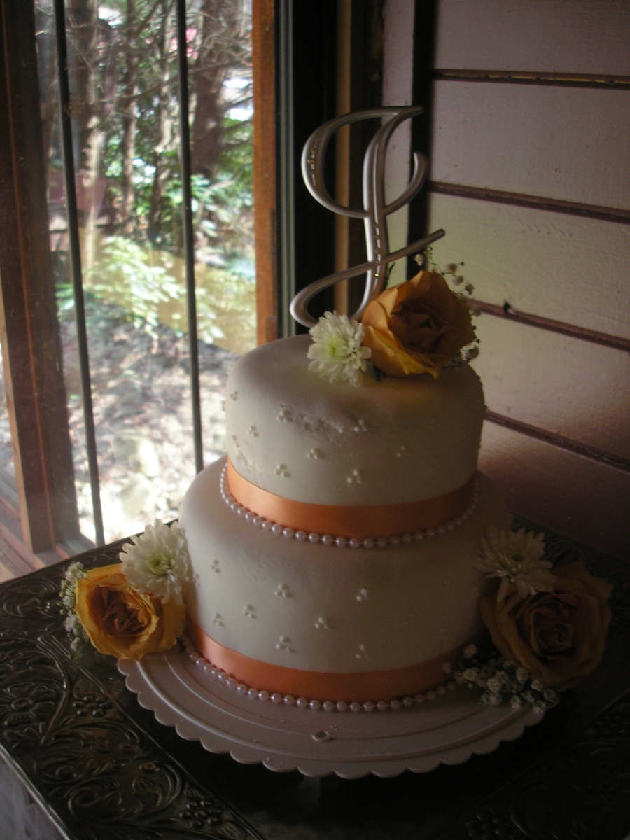 peach wedding cake gallery and white wedding cakecentral 18146