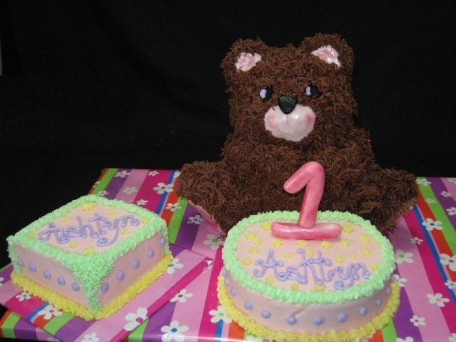Teddy Bear Birthday. on Cake Central