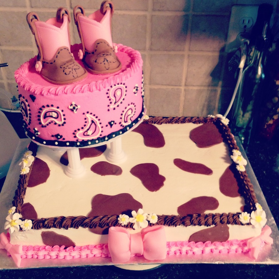 Western Fondant Cake Decorations