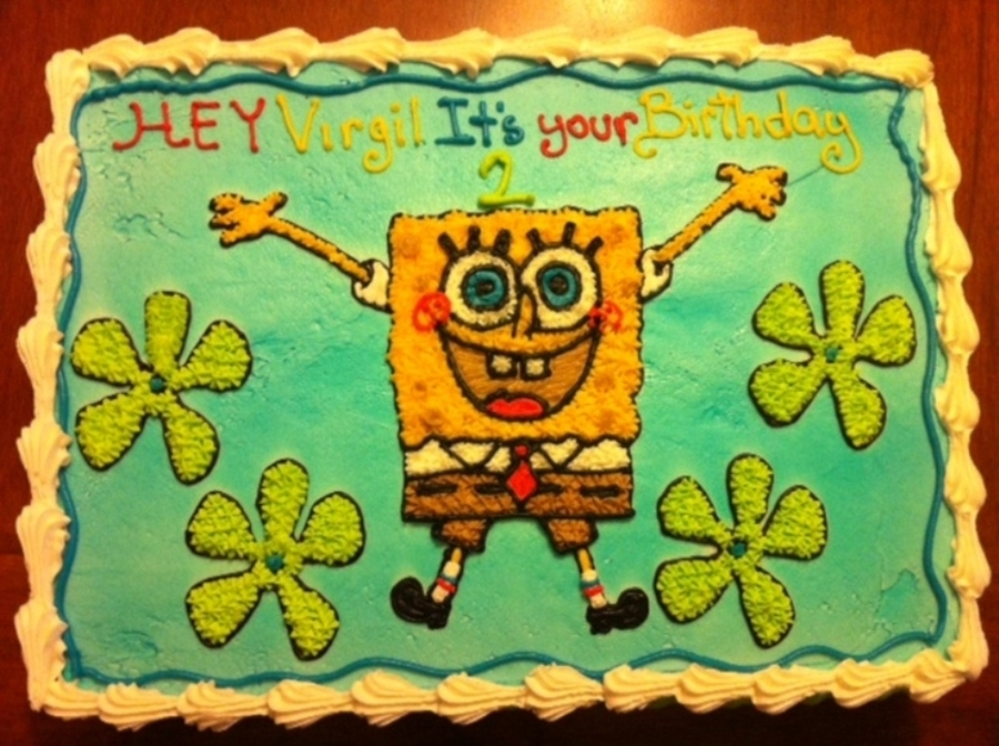 Spongebob Square Pants on Cake Central