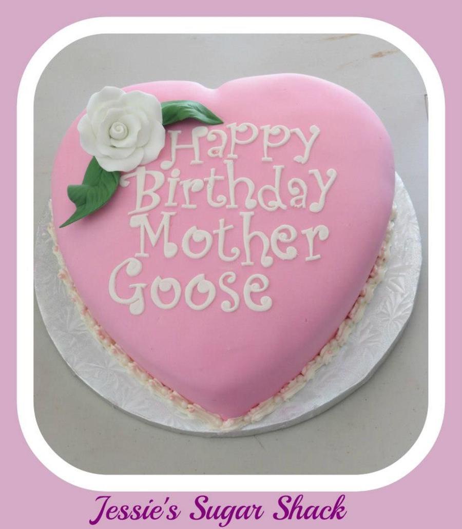 happy birthday mother cake