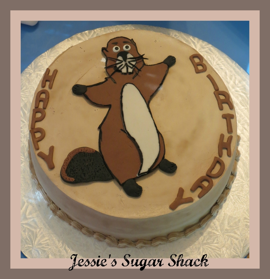 Happy Beaver Day on Cake Central