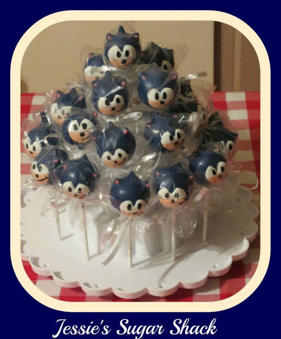 Sonic The Hedgehog Cake Pops Cakecentral Com
