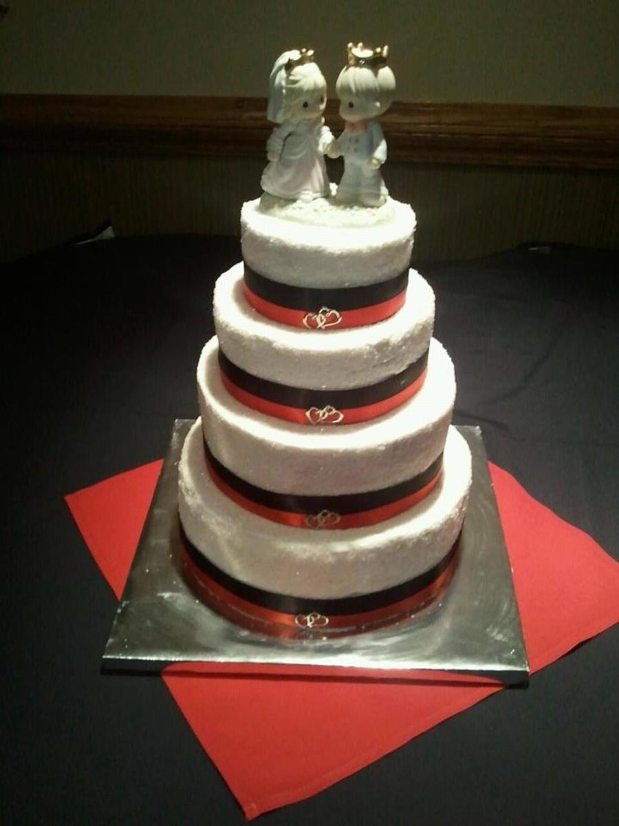 Simple Black & Red  on Cake Central