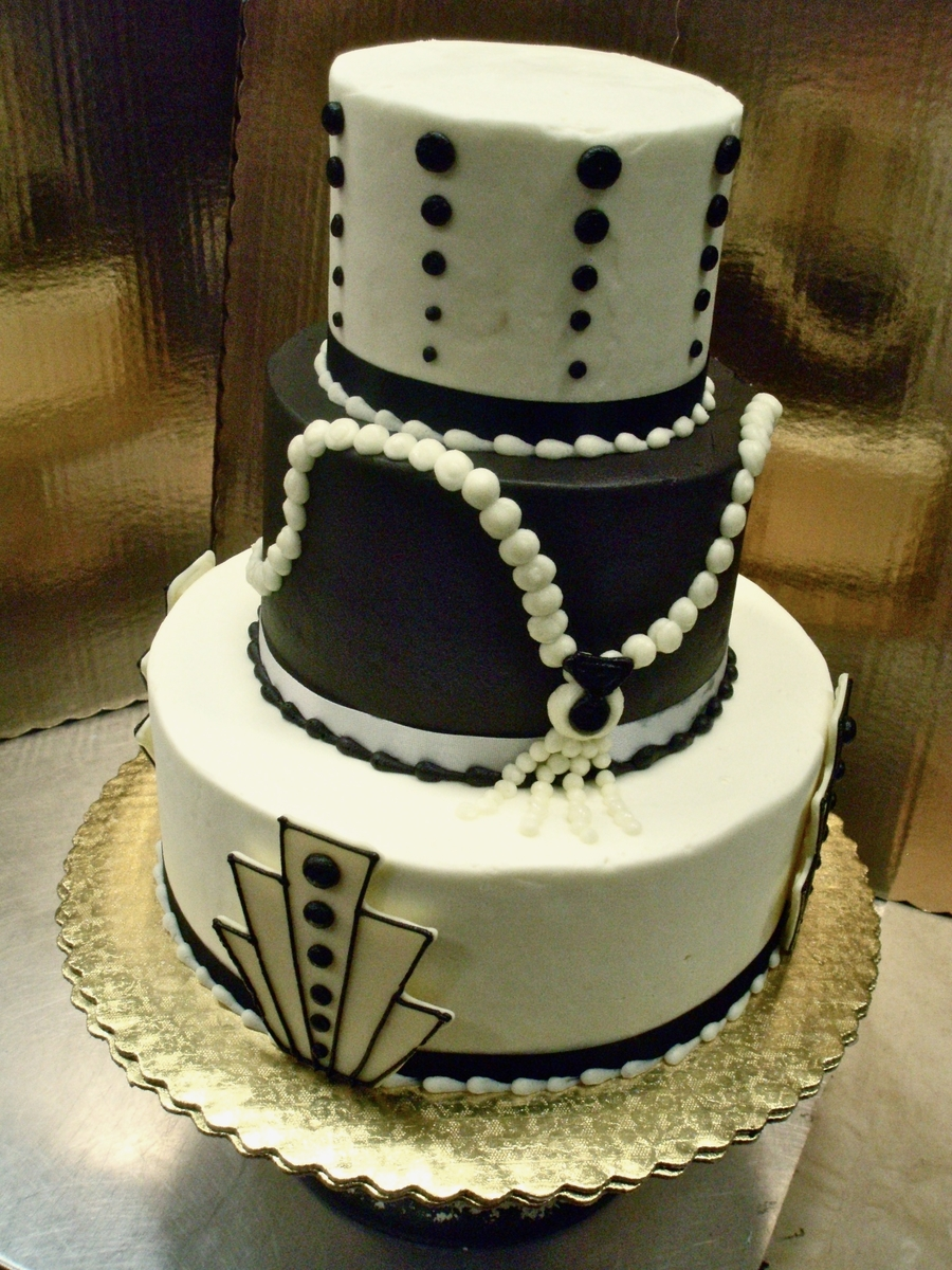 Art Deco Birthday Cake : Art Deco Birthday - CakeCentral.com
