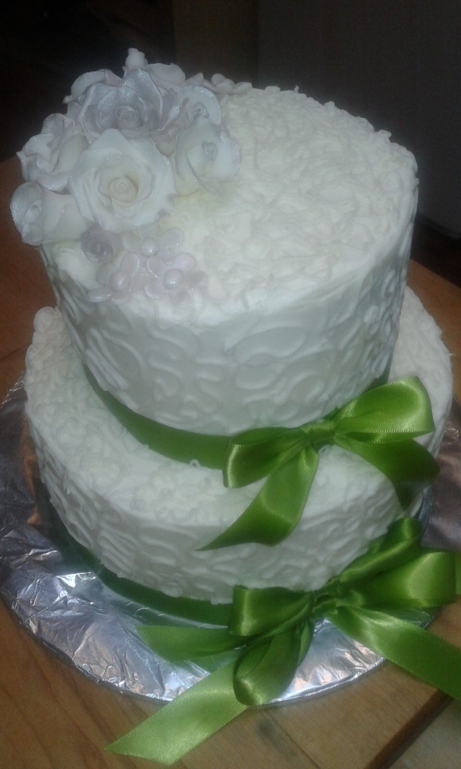 Chelsea Wedding Cake on Cake Central