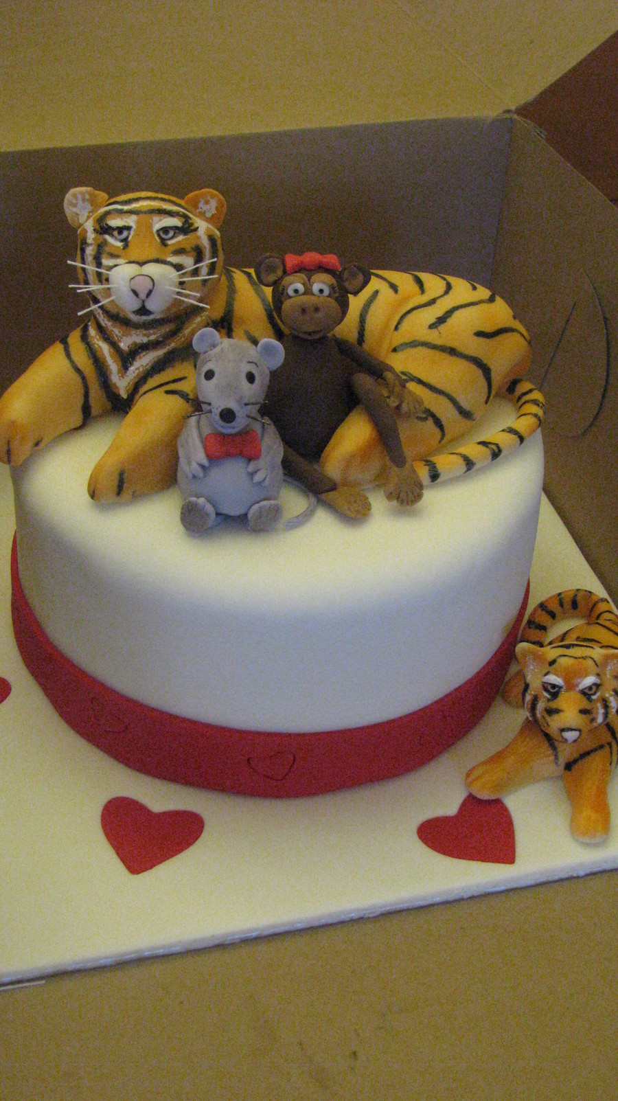 Remarkable Tiger Lover Birthday Cake Cakecentral Com Personalised Birthday Cards Paralily Jamesorg