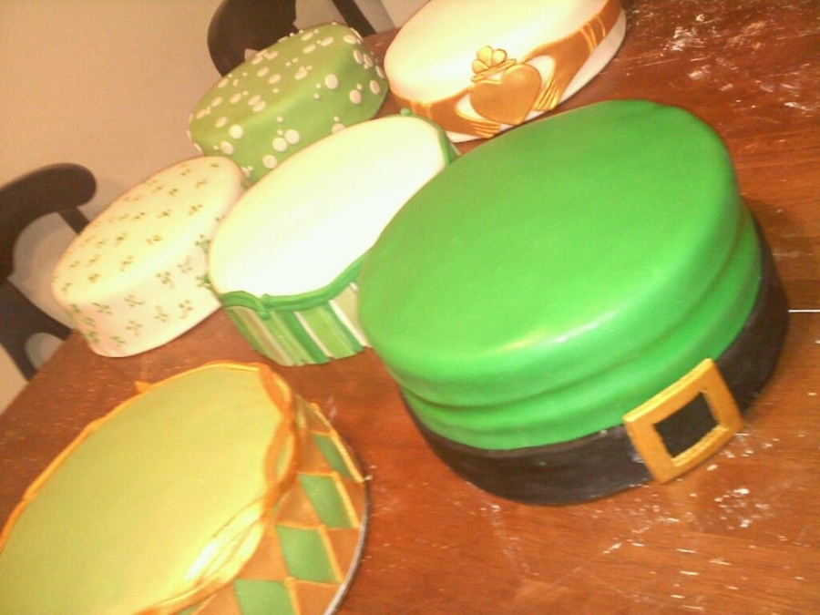 St. Patties Wedding on Cake Central