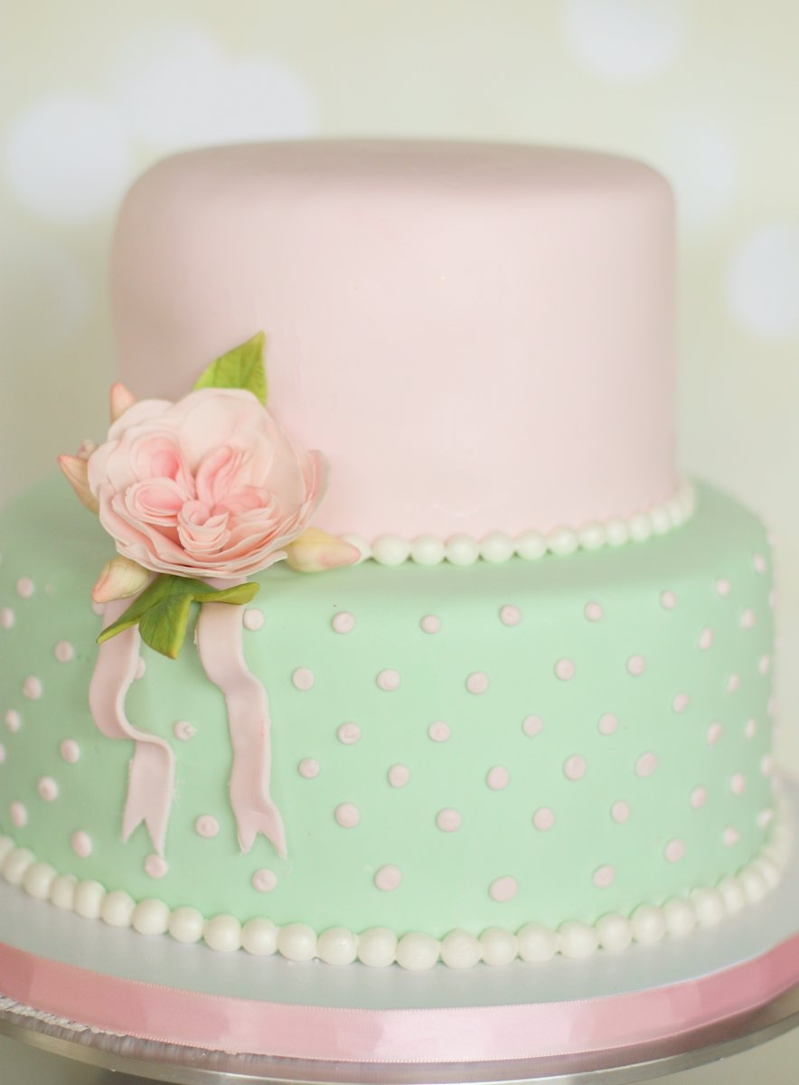 Shabby Chic Vintage Inspired 18th Birthday Cake Cakecentral