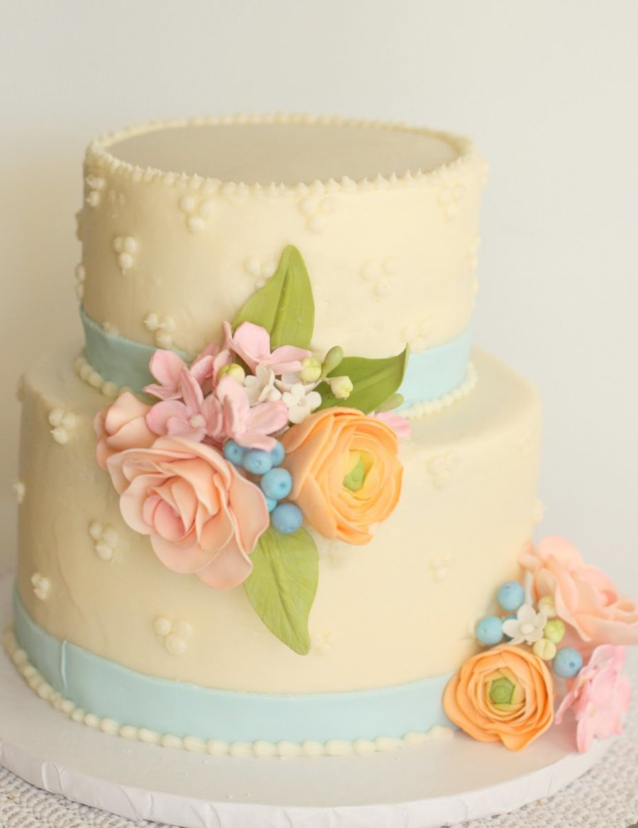 Spring Flower Decorated Cakes