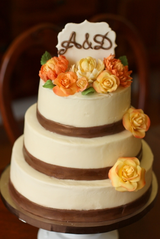 fall rustic wedding cakes rustic fall themed wedding cake everything on the cake is 14149