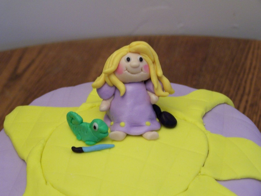 Baby Rapunzel From Disney Movie Tangled Cakecentral Com