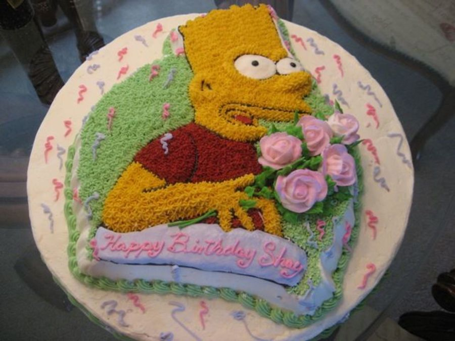 Bart In Love on Cake Central