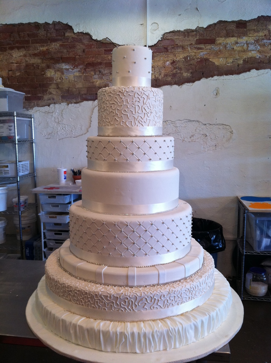 7 tier wedding cakes 1315278634 jpg cakecentral 10511