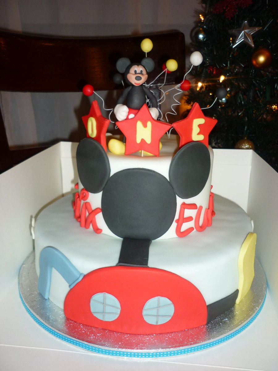 Mickeymouse Clubhouse on Cake Central
