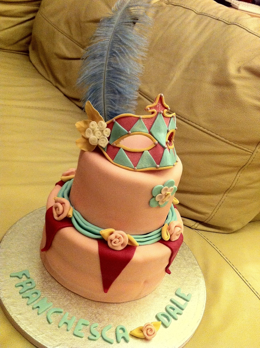 7Th Masquerade Themed Birthday on Cake Central