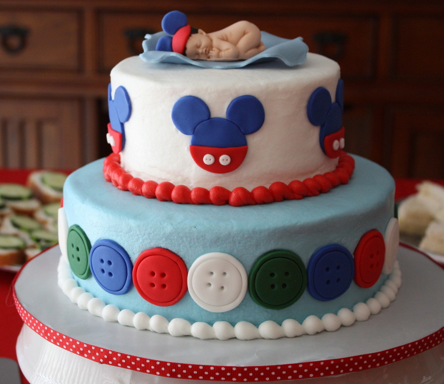Mickey Mouse Baby Shower on Cake Central