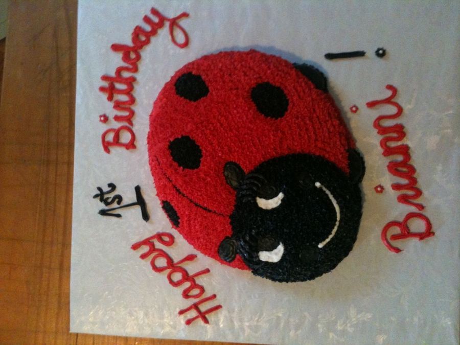 Pretty Ladybug on Cake Central