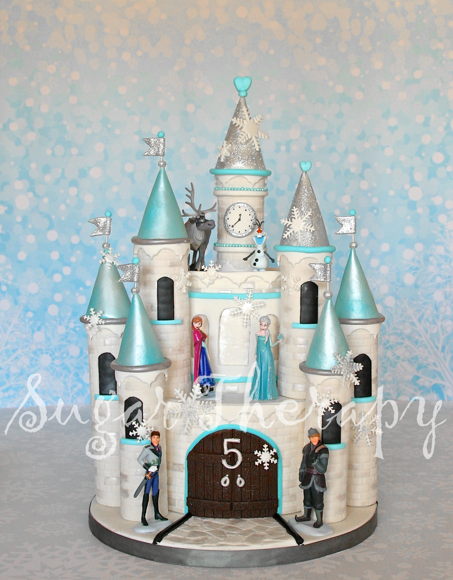 Elsa Castle Cake Youtube