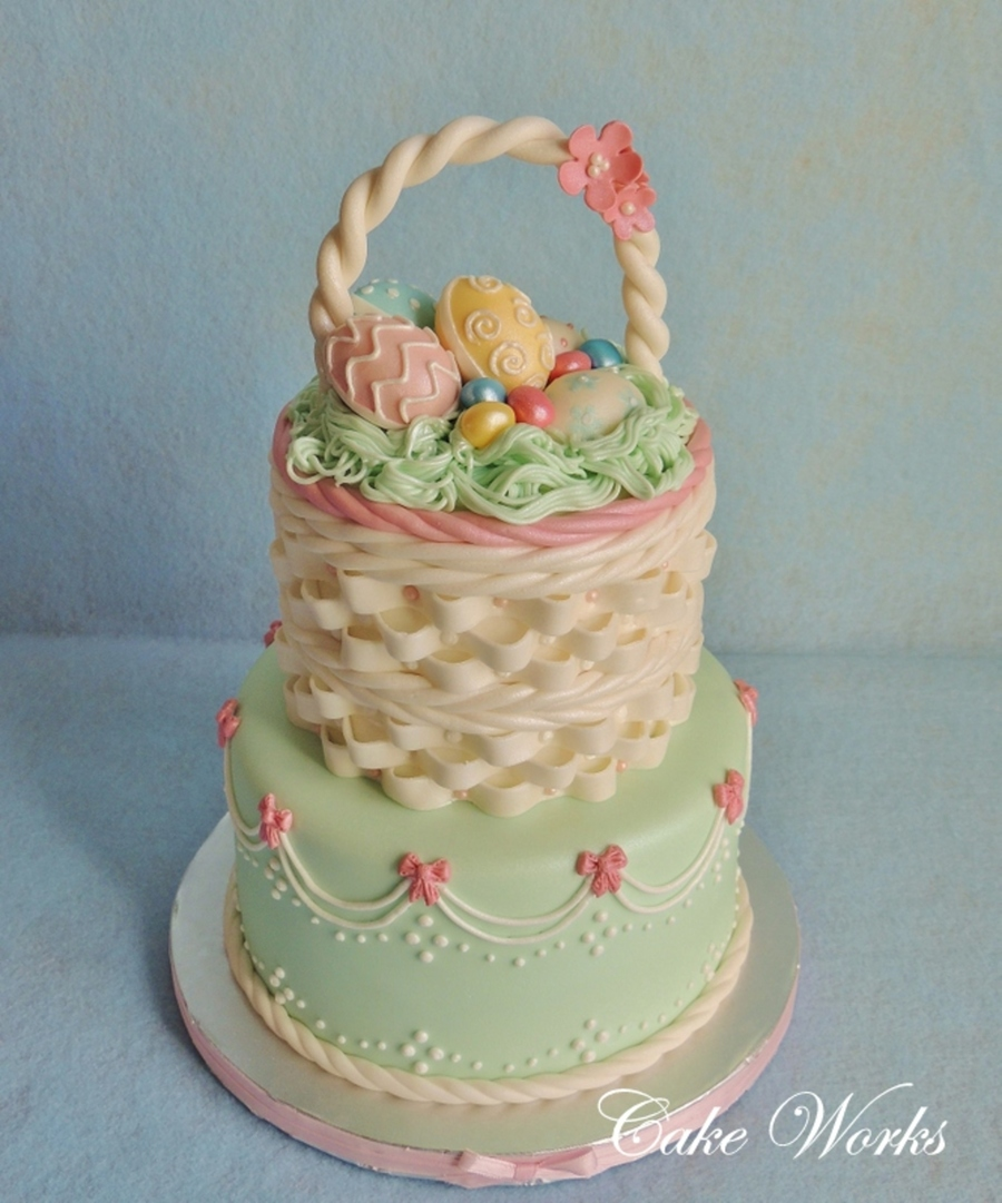 Easter Basket Cakecentral Com