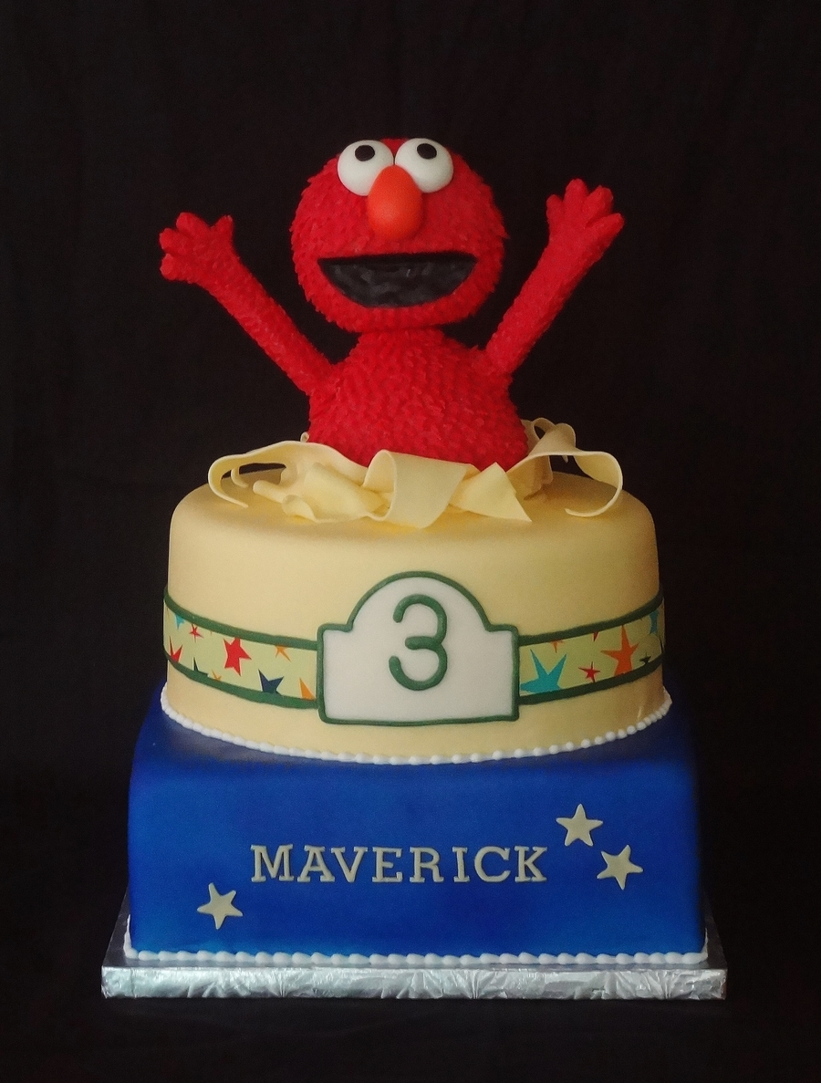 Elmo 3Rd Birthday on Cake Central