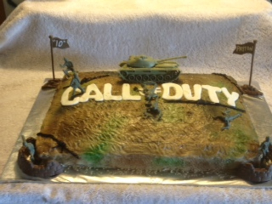 Call Of Duty on Cake Central