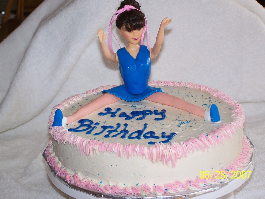 Cheerleader Birthday Cake Cakecentral