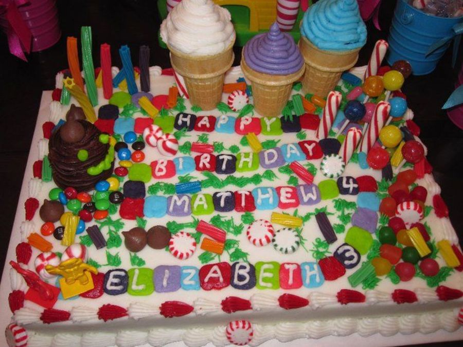 Terrific Candyland Birthday Cake Cakecentral Com Birthday Cards Printable Opercafe Filternl