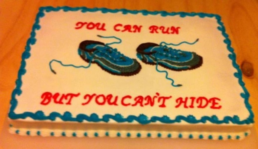 Runners Cake Cakecentral