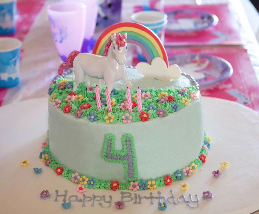 Unicorn And Rainbow Cakecentral Com