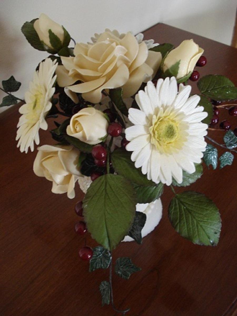 Sugar Paste Flower Bouquet Cakecentral