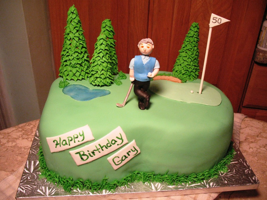 Golf 40Th Birthday on Cake Central