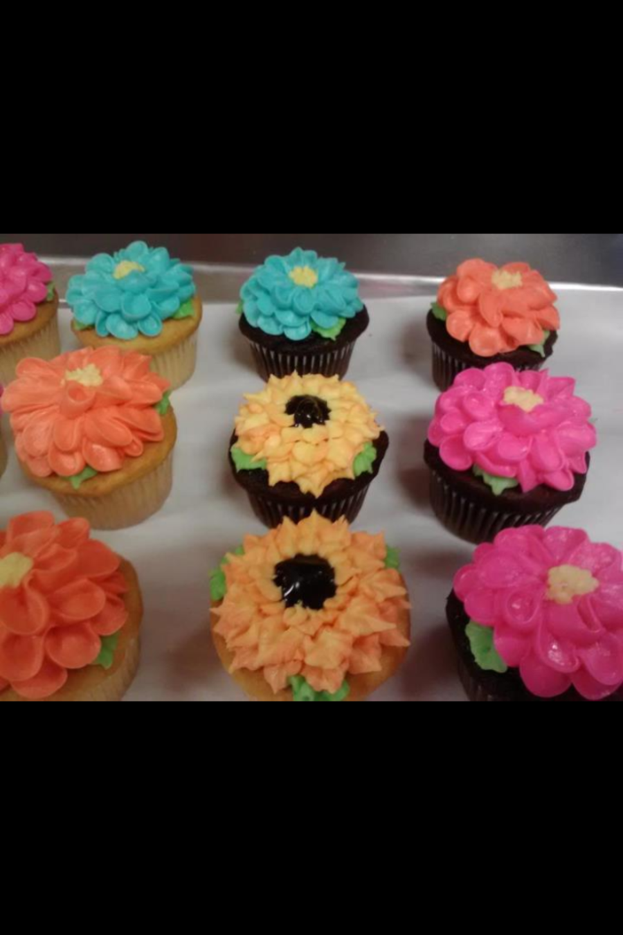 Cupcakefloralpng on Cake Central