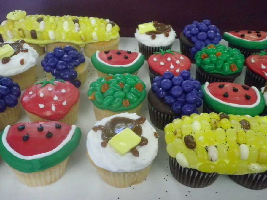 Picnic Cupcakes on Cake Central