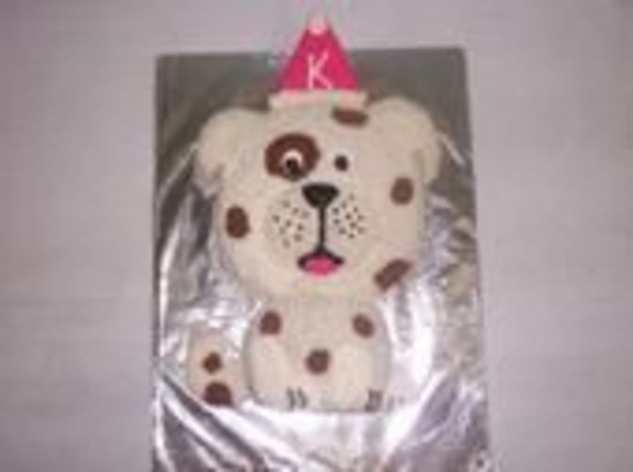 Dog With Spots on Cake Central
