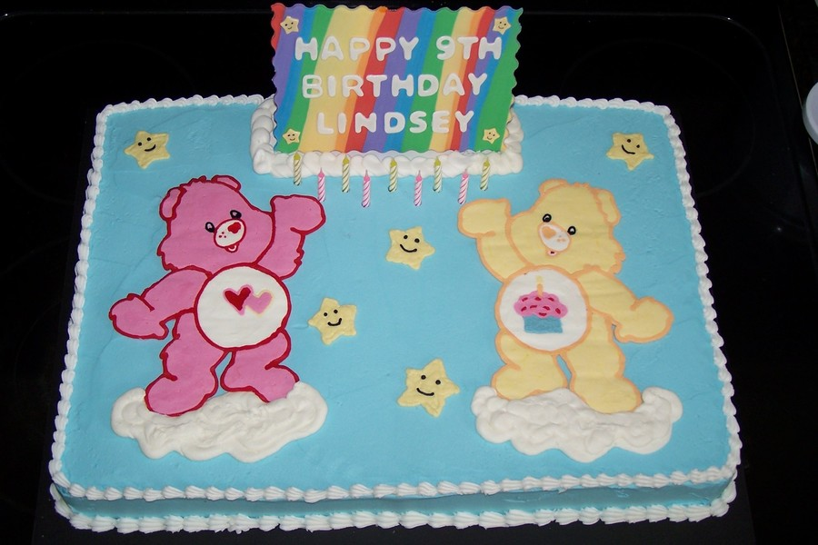 Care Bears Birthday Cake Cakecentral