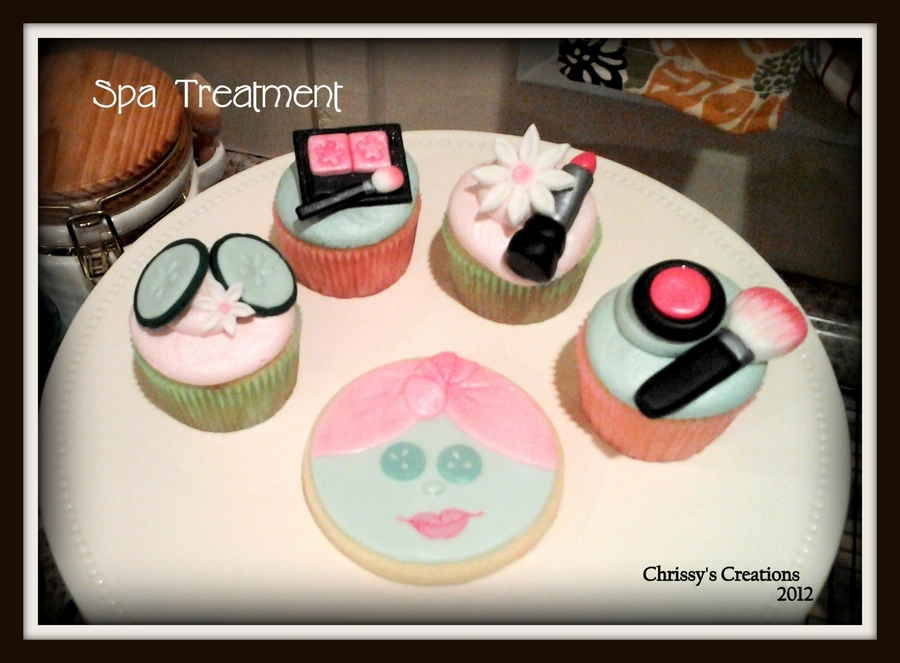 Spa Treatment  on Cake Central