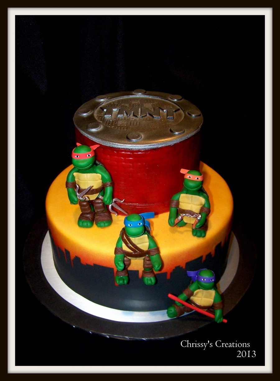 Teenage Mutant Ninja Turtles on Cake Central